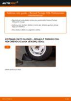 VOLVO C70 Alyvos filtras pakeisti: žinynai pdf