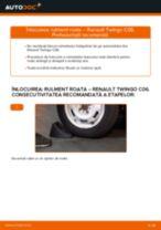 PDF manual pentru întreținere TWINGO