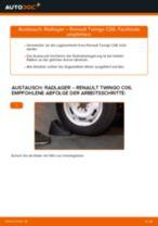 Bremssattelhalter wechseln RENAULT TWINGO: Werkstatthandbuch