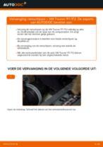 Hoe remschijven achteraan vervangen bij een VW Touran 1T1 1T2 – Leidraad voor bij het vervangen