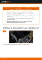 Comment changer : disques de frein arrière sur VW Touran 1T1 1T2 - Guide de remplacement