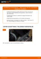 Udskift bremseskiver bag - VW Touran 1T1 1T2 | Brugeranvisning
