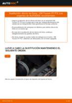 Cómo cambiar: discos de freno de la parte trasera - VW Touran 1T1 1T2 | Guía de sustitución