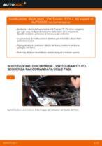 Come cambiare dischi freno della parte anteriore su VW Touran 1T1 1T2 - Guida alla sostituzione
