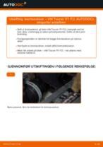 Slik bytter du bremseskiver bak på en VW Touran 1T1 1T2 – veiledning