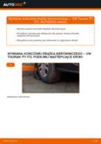 Jak wymienić końcówkę drążka kierowniczego w VW Touran 1T1 1T2 - poradnik naprawy