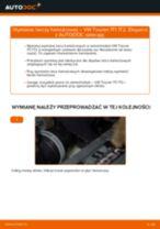 Jak wymienić tarcze hamulcowe tył w VW Touran 1T1 1T2 - poradnik naprawy
