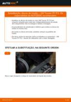 Como mudar e ajustar Amortecedor de suspensão VW TOURAN: tutorial pdf