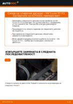 Подмяна на Спирачен диск VW TOURAN: техническо ръководство