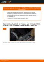 Înlocuire Placute Frana spate si față VW cu propriile mâini - online instrucțiuni pdf