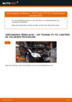 Hoe remklauw achteraan vervangen bij een VW Touran 1T1 1T2 – Leidraad voor bij het vervangen