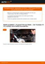 Comment changer : plaquettes de frein avant sur VW Touran 1T1 1T2 - Guide de remplacement