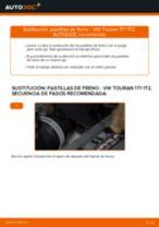 Cambiar Cilindro de Freno de Rueda VW TOURAN: manual de taller