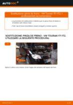 Come cambiare pinza de freno della parte posteriore su VW Touran 1T1 1T2 - Guida alla sostituzione