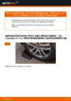 Αλλαγή Ψαλίδια VW TOURAN: εγχειριδιο χρησης
