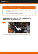 VW TOURAN Bremžu suports maiņa: bezmaksas pdf