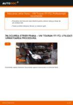 Cum să schimbați: etrier frana din spate la VW Touran 1T1 1T2 | Ghid de înlocuire