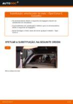 Como mudar amortecedor da mala em Opel Corsa C - guia de substituição