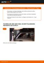 METZGER 2110158 für Corsa C Schrägheck (X01) | PDF Handbuch zum Wechsel