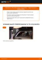 Jak wymienić siłowników klapy bagażnika w Opel Corsa C - poradnik naprawy