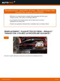 Comment effectuer un remplacement de Plaquettes de Frein sur 1.2 Renault Twingo 1