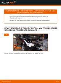 Comment effectuer un remplacement de Étrier De Frein sur 1.9 TDI VW Touran 1