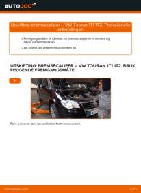 Slik bytter du Bremsecaliper på VW TOURAN