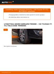 Slik bytter du Bærebru på VW TOURAN