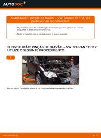 Como realizar a substituição do Pinças de Travão no VW ? Dê uma olhada no nosso guia detalhado e saiba como fazê-lo