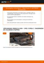 Hoe remschijven vooraan vervangen bij een Opel Corsa C – vervangingshandleiding