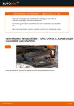 Hoe remblokken vooraan vervangen bij een Opel Corsa C – vervangingshandleiding