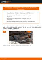 Tips van monteurs voor het wisselen van OPEL Opel Corsa C 1.0 (F08, F68) Schokbrekers