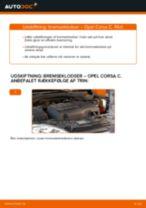 Vedligeholdelse OPEL manualer pdf