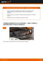 Krok za krokom příručka na opravu Opel Corsa S93