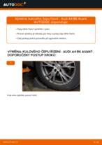 DENCKERMANN D130079 pro A4 Avant (8E5, B6) | PDF manuál na výměnu