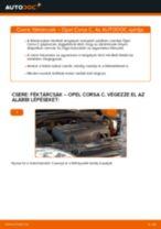 OPEL CORSA Axiális Csukló Vezetőkar cseréje : ingyenes pdf