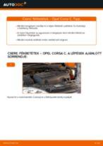 Opel Combo D Tour javítási és kezelési útmutató pdf