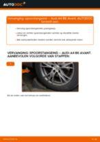 Hoe spoorstangeind vervangen bij een Audi A4 B6 Avant – vervangingshandleiding