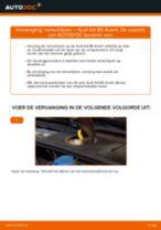 Audi A4 B8 Sedan reparatie en onderhoud gedetailleerde instructies
