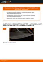 AUDI Kofferraum Stoßdämpfer elektrisch selber wechseln - Online-Anweisung PDF