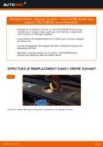 Comment changer : disques de frein avant sur Audi A4 B6 Avant - Guide de remplacement
