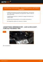 Udskift bremseskiver bag - Audi A4 B6 Avant | Brugeranvisning