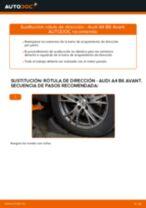 Cómo cambiar: rótula de dirección - Audi A4 B6 Avant | Guía de sustitución