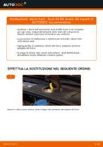 Come cambiare dischi freno della parte anteriore su Audi A4 B6 Avant - Guida alla sostituzione