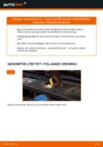 Byta bromsskivor fram på Audi A4 B6 Avant – utbytesguide