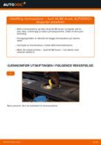 Slik bytter du bremseskiver fremme på en Audi A4 B6 Avant – veiledning