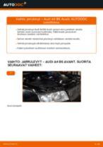 Korjaamokäsikirja tuotteelle Audi A4 B8