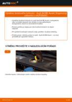 Manuál pro kutily o výměně Brzdovy kotouc v AUDI A4