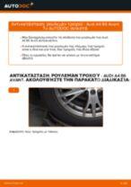 Πώς να αλλάξετε ρουλεμάν τροχού πίσω σε Audi A4 B6 Avant - Οδηγίες αντικατάστασης