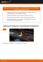 Vodič PDF po korakih za menjavo AUDI A4 Avant (8E5, B6) Zavorni kolut
